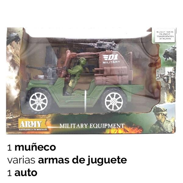 Imagen de Auto Militar Camuflado 30cm