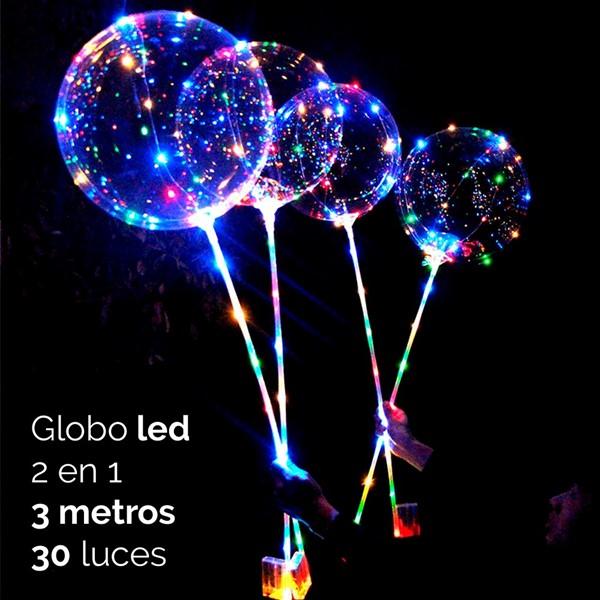 Imagen de Globo Led 2 En 1 3m 30 Luces