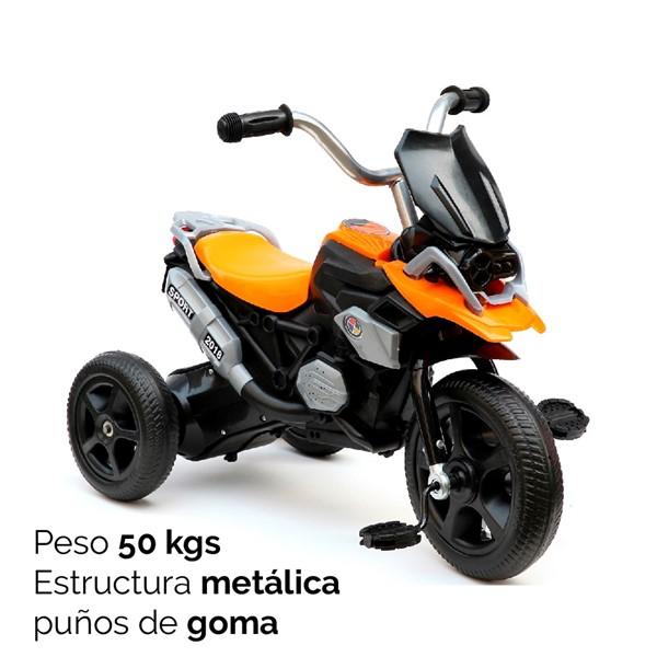 Imagen de Triciclo Moto Con Musica Peso 50kgs