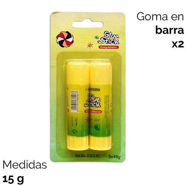 Imagen de GOMA DE PEGAR EN BARRA X 2