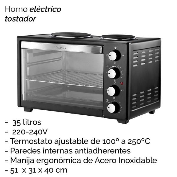 Imagen de HORNO ELECTRICO 35 L CAPACIDAD XI-HE35